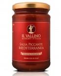 Salsa Mediterranea Piccante 290 g - Il Vallino