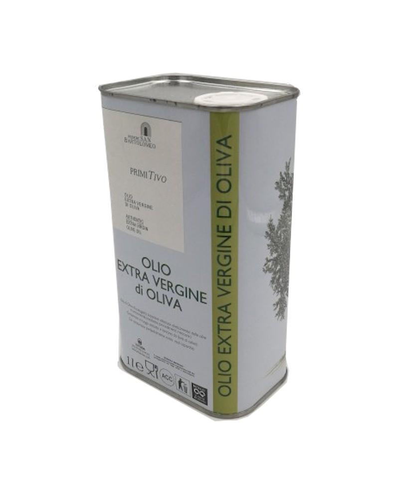 Podere San Bartolomeo Castagneto Carducci olio extravergine di oliva primitivo - lattina verde - 5000 ml - podere san  bartolomeo