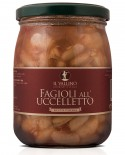 Fagioli all'Uccelletto 500 g - Il Vallino
