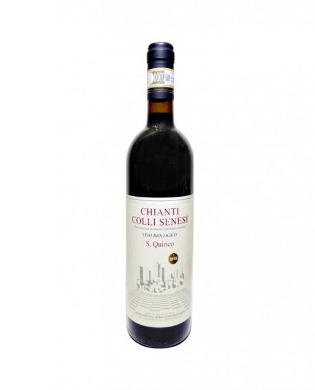 Chianti Colli Senesi DOCG 2016 Biologico - bottiglia da 0,75 lt - Azienda Agricola San Quirico