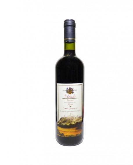 Toscano IGT Rosso 2009 Biologico - bottiglia da 0,75 lt - Azienda Agricola San Quirico