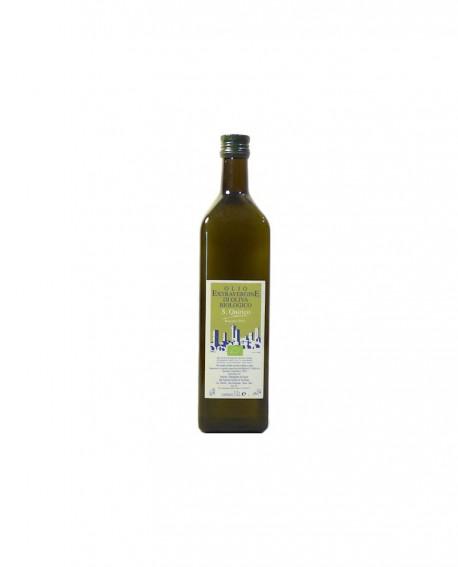 Olio extra Vergine di Oliva Biologico - bottiglia da 0,75 lt - Azienda Agricola San Quirico