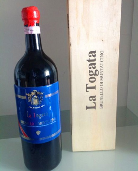 Magnum 3 lt. Brunello di Montalcino DOCG La Togata 2015 - Cantina La Togata
