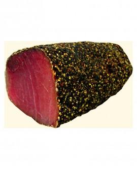 Tonno bresaola filetto pepe nero indiano stagionato oltre 5 mesi - 1 kg - scadenza 90gg - Salumi di Mare