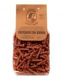 Peperoncino Rosso Ricci Germe di Grano Lorenzo il Magnifico 500 gr  Pasta Aromatizzata Antico Pastificio Morelli