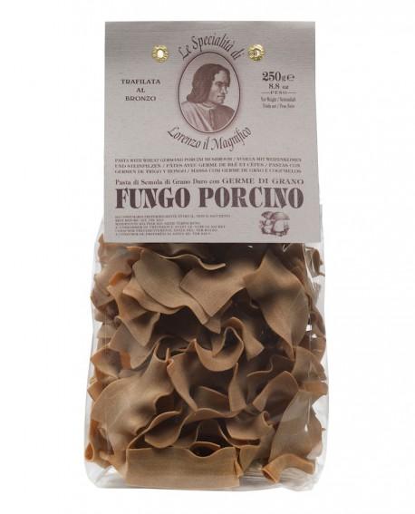 Fungo Porcino Straccetti Germe di Grano Lorenzo il Magnifico 250 gr Pasta Aromatizzata - Antico Pastificio Morelli