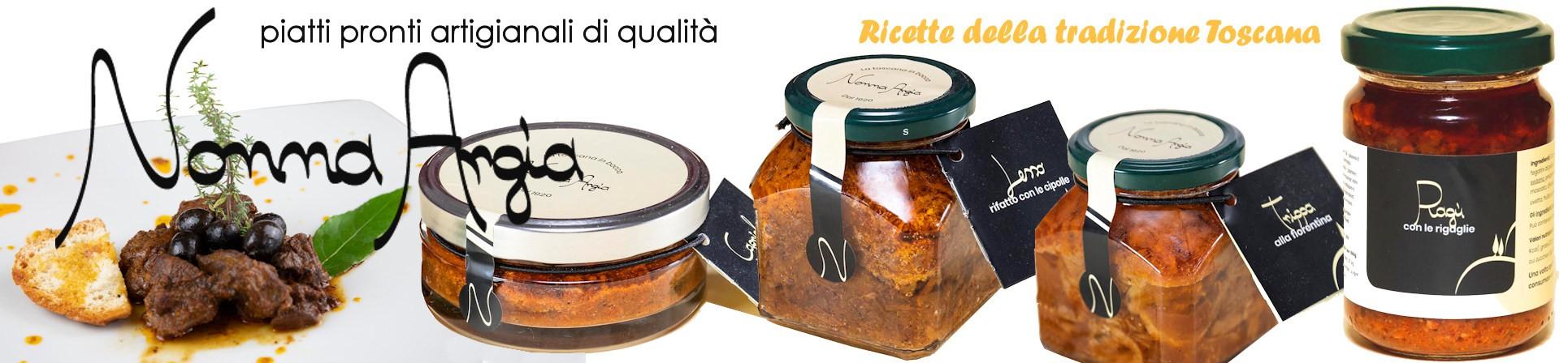 vendita online piatti pronti cucina toscana - NONNA ARGIA