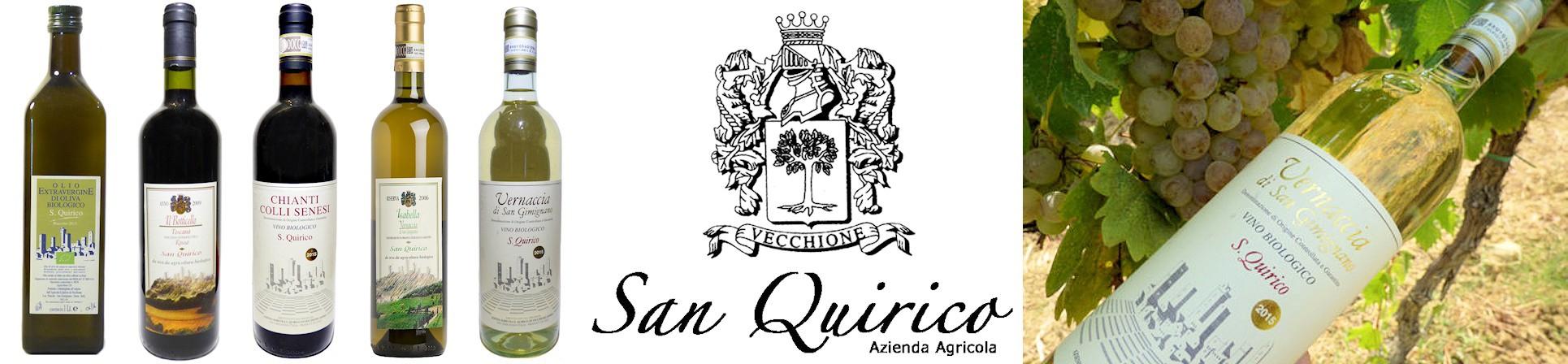 Vernaccia di San Gimignano e Chianti Colli Senesi - vendita online