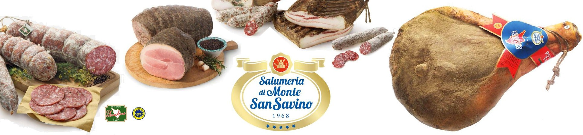 Vendita online Prosciutto Toscano DOP - Salumeria Monte San Savino