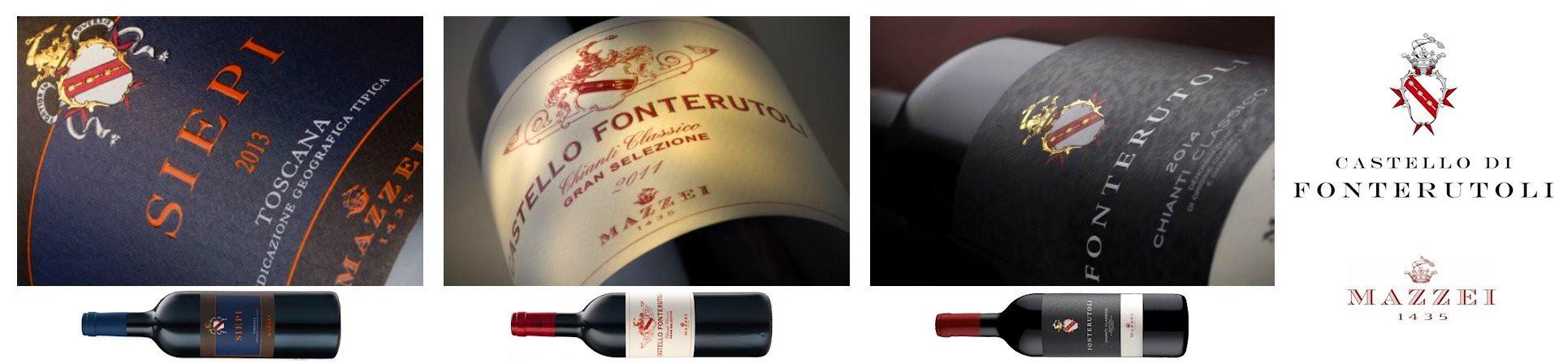 Vini Toscani - Chianti Classico DOCG - CASTELLO DI FONTERUTOLI Mazzei vendita online